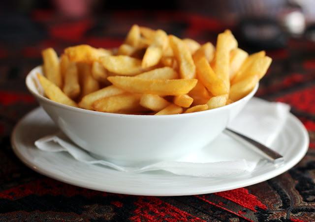 Pommes frites.