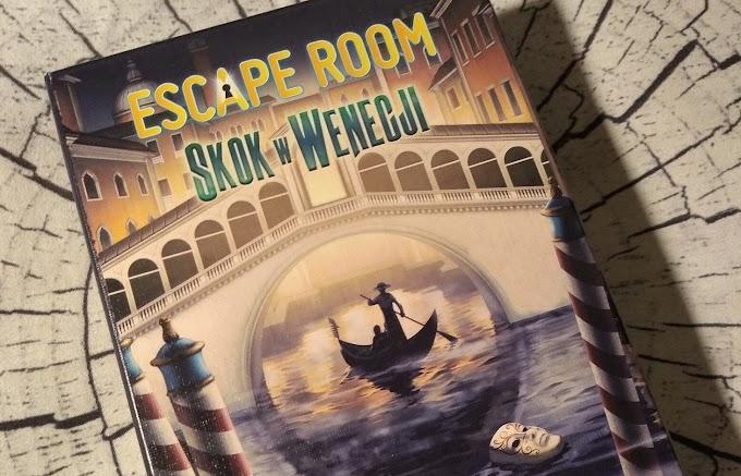 Escape Room: Skok w Wenecji - pokój zagadek w kieszeni, czyli wrażenia z gry. Recenzja