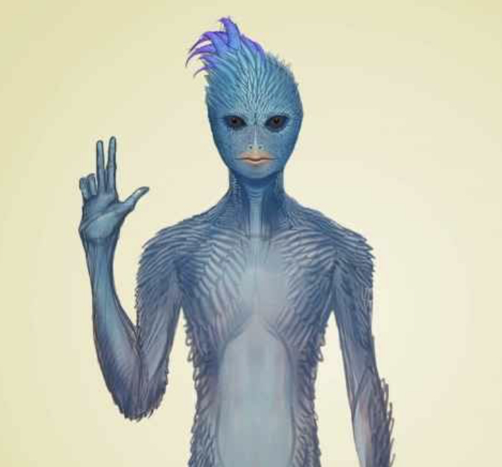 Голубые авиане: вернитесь в свое сердечное пространство Image1