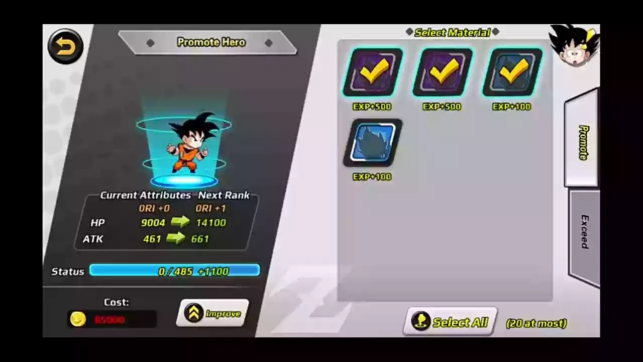 Online DBZ Game for Android