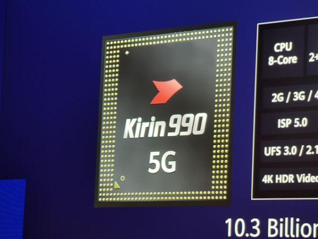 هواوي تكشف عن معالج HiSilicon Kirin 990 SoC