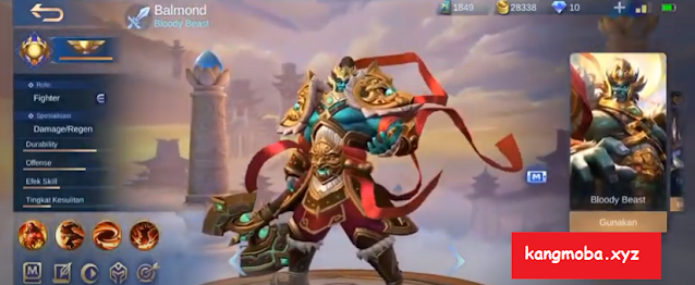 Script Skin Collector Balmond God Of Mountains Full Effect + Voice Mobile Legends