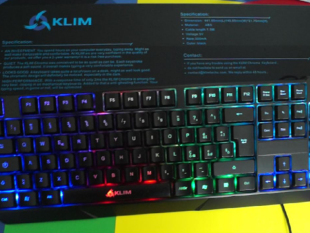 Recensione tastiera KLIM Chroma: ottima periferica ad un ottimo prezzo!