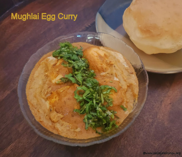 images of Mughlai Egg Curry / Egg Curry In Mughlai Style / Egg Curry