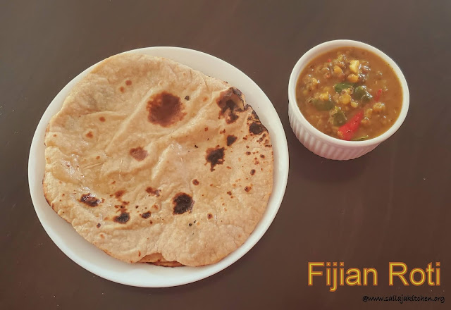 images of Fijian Roti Recipe / Fiji Roti / Soft Roti Recipe / Fiji Style Roti