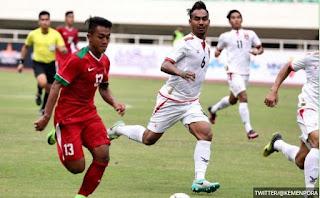 Aksi Febri Hariyadi Menarik Perhatian Pelatih Myanmar