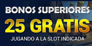 todoslots bonos superiores 25 euros gratis 3-4 marzo 21