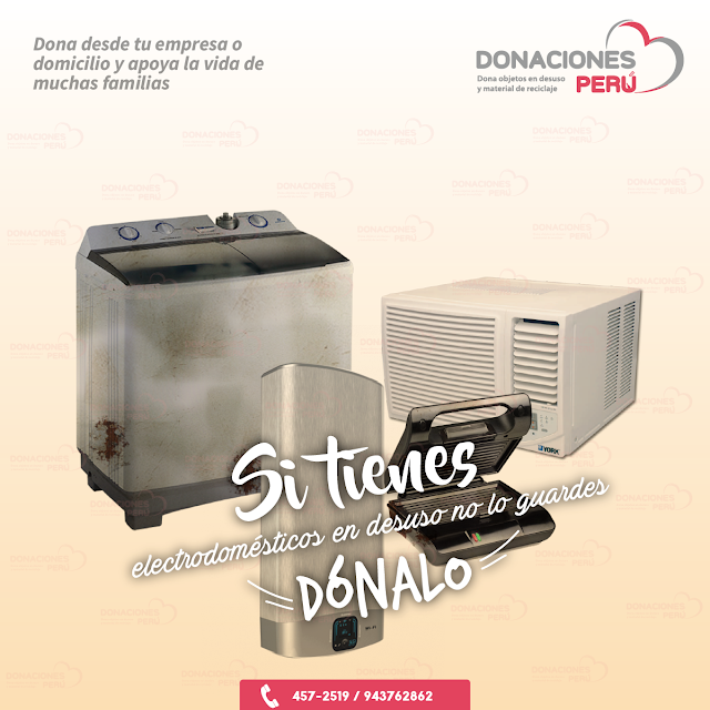 Dona lavadoras - Dona terma - Dona microondas - No lo guardes -Donalo