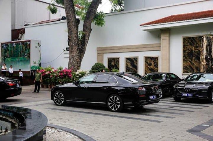 Cận cảnh dàn xe VinFast phục vụ Hội nghị Cấp cao ASEAN lần thứ 36