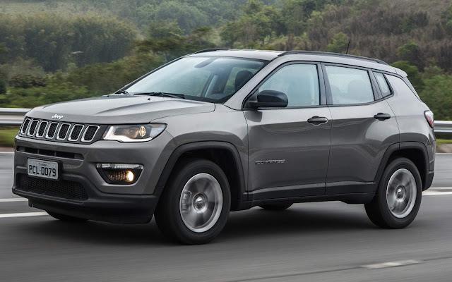Jeep Compass - SUV mais vendido do Brasil