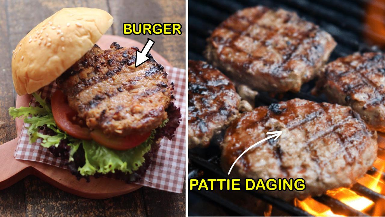 Resepi Burger Pattie Daging