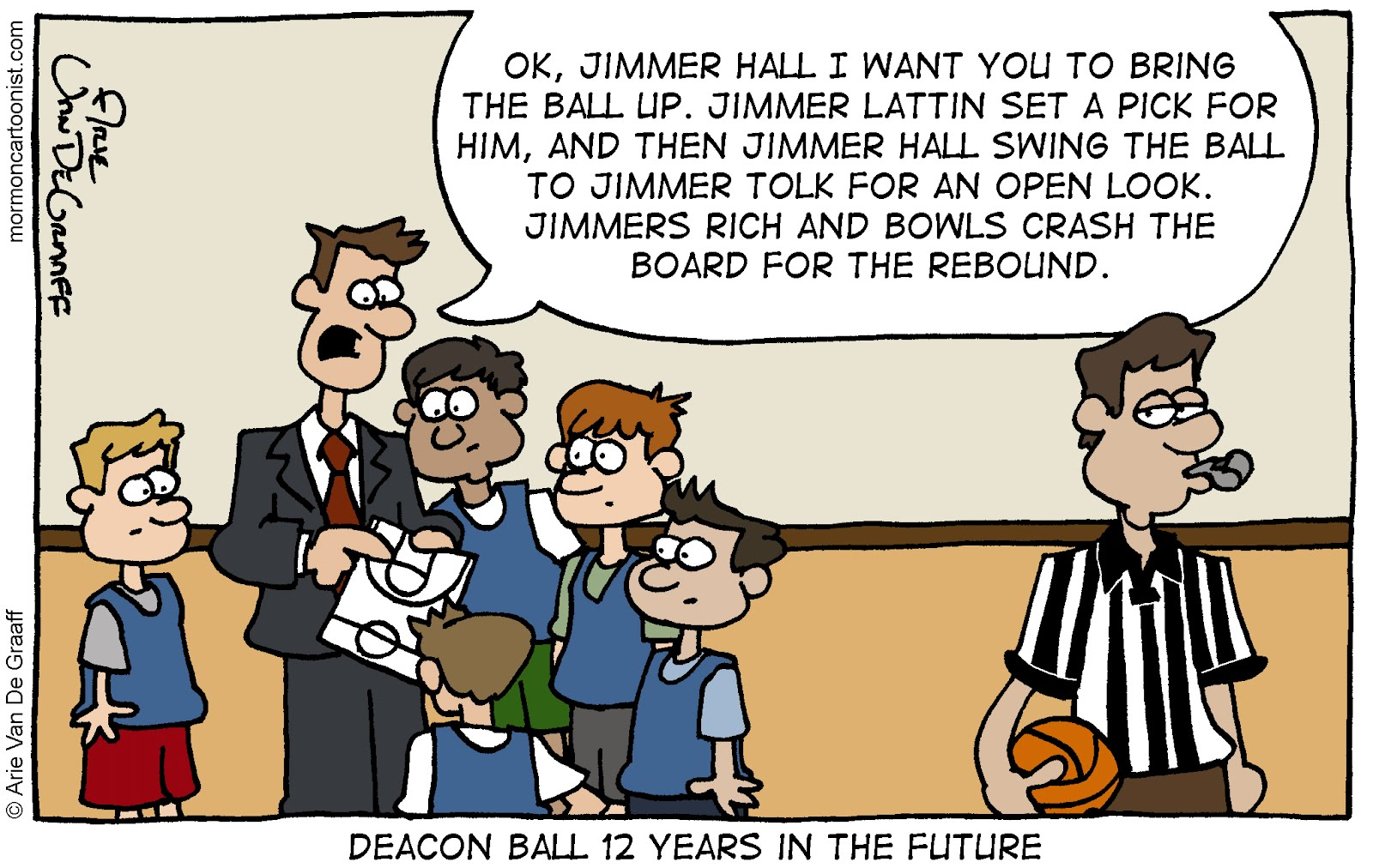 Ward Cartoonist: March Madness and a Major Announcment