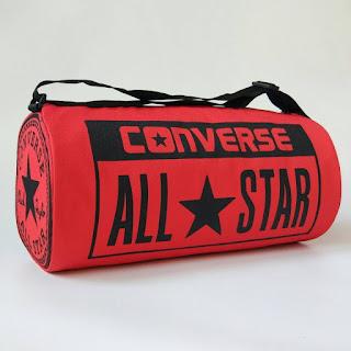 Tas Duffle Bag Converse Merah Harga Terjangkau
