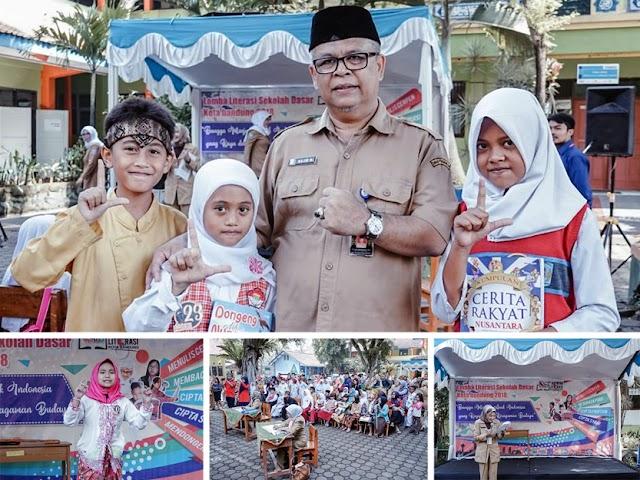 Inilah Daftar Juara Lomba Literasi Tingkat SD Kota Bandung 2018