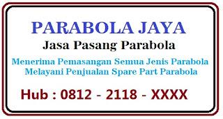 Jasa Pasang Parabola