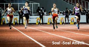 Latihan Soal Pilihan Ganda Tentang Atletik Lengkap Jawaban