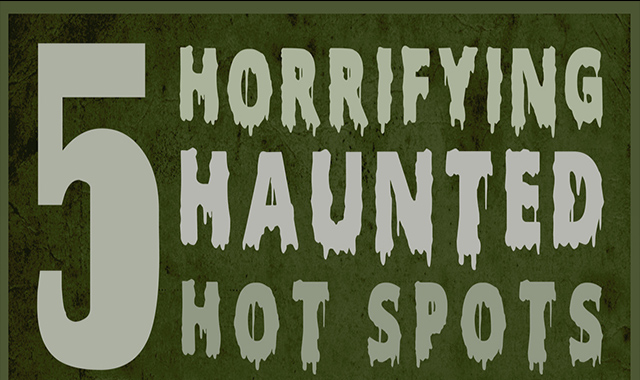5 Horrifying Haunted hot Spots
