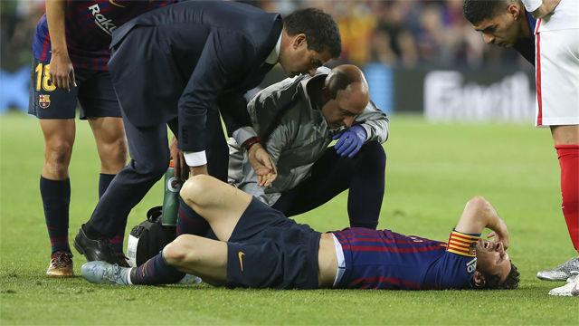 Messi y su nueva lesión, con futuro incierto