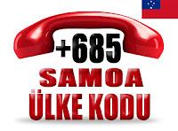 +685 Samoa ülke telefon kodu