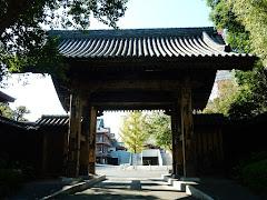 増上寺旧方丈門(黒門)