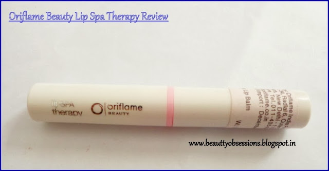 Review - Oriflame Beauty Lip Spa Therapy