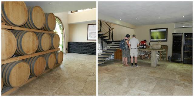 vinícola Springfield Estate, em Robertson, África do Sul