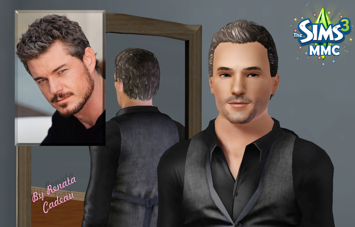 The Sims Male Models And Celebrities Eric Dane Mc Steamy