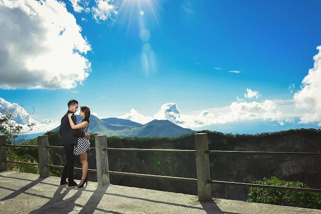 Bisa digunakan Foto Prewedding di Gunung Mahawu