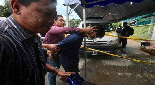 Polis Bawa Salah Seorang Suspek Ke Pusat Tahfiz.