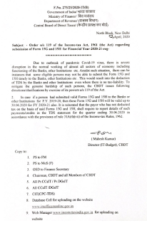 covid-19-order-u-s-119-of-it-act-regarding-submission-of-form-15g-and-15h-for-f-y-2020-21