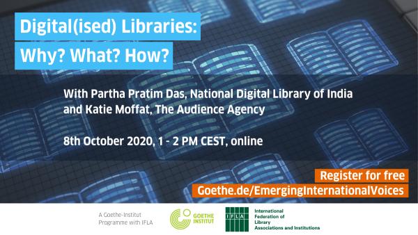 [FREE webinar] Digital(ised) Libraries: Why? What? How?