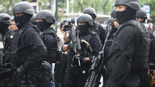 Tersangka Teroris di Pekanbaru Jaringan JAD dan Kelompok Sumsel
