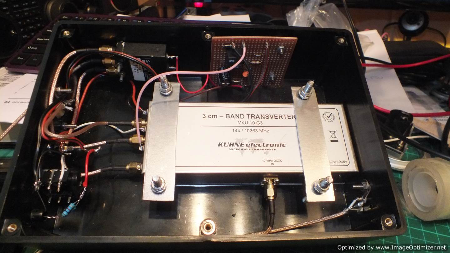G0MGX In the Shack: A Starter for 10 GHz