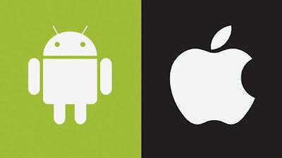 android dan iphone
