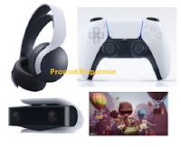 """Concorso Sony """"Be the first"""" : vinci gratis la nuova PlayStation 5 con giochi e accessori"""