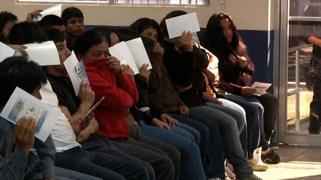 Estados Unidos continúa deportando migrantes contagiados