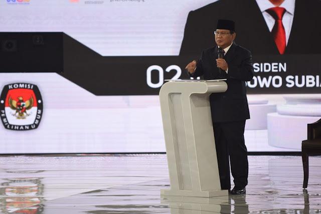 Di Depan Jokowi, Prabowo: Yang Mau Ubah Pancasila, Hadapi Saya!