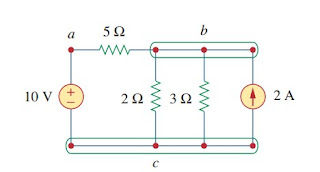 electric circuit branches