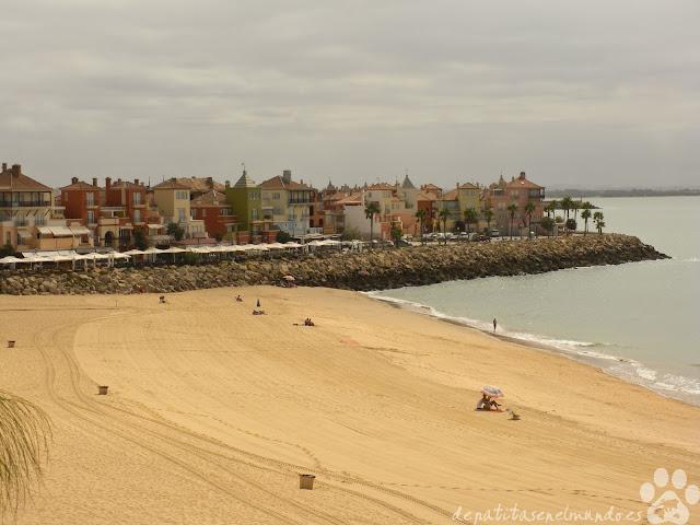 Playa de La Muralla. El Puerto de Santa María