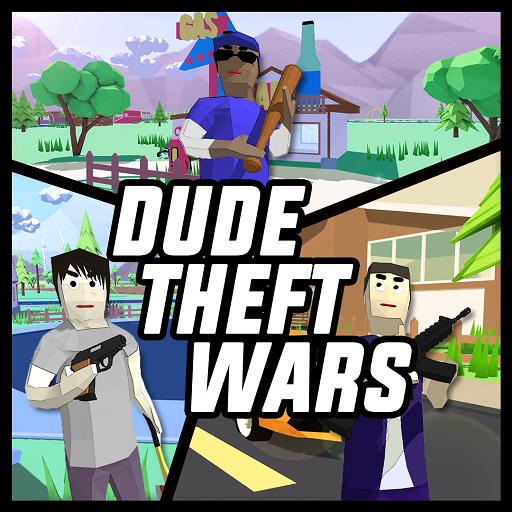 تحميل لعبه Dude Theft Wars مهكره اخر اصدار