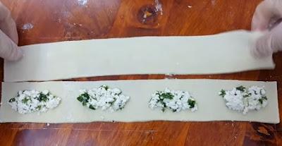 مربعات مقلية محشي بالجبن