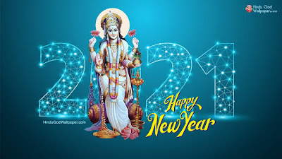 happy new year 2021 greeting wallpaper