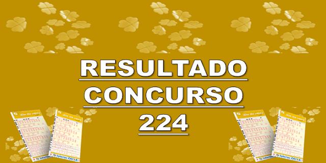 Sorteio 224 resultado dia de sorte – prêmio R$ 1 milhão