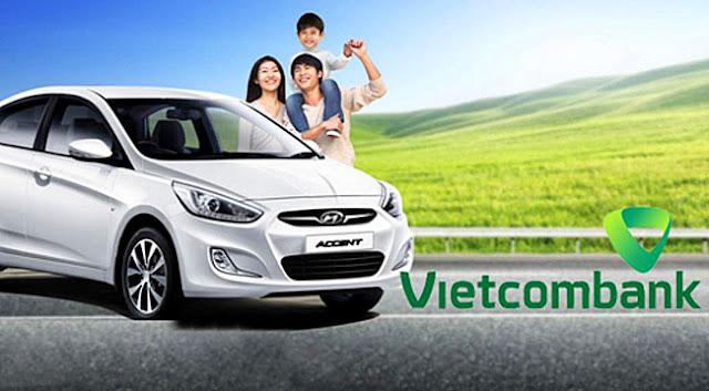 Mua ô tô với nguồn vay vốn ngân hàng Vietcombank