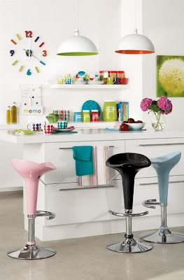 Here Are Some Pictures Of Colorful Kitchen Interior Design Ideas