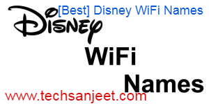 Disney WiFi Names