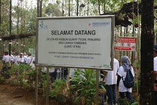 Kebun Tegal Panjang Ulang tahun Indocement ke-44