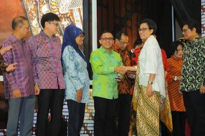 Pengelolaan keuangan daerah Banyuwangi terbaik di Indonesia.