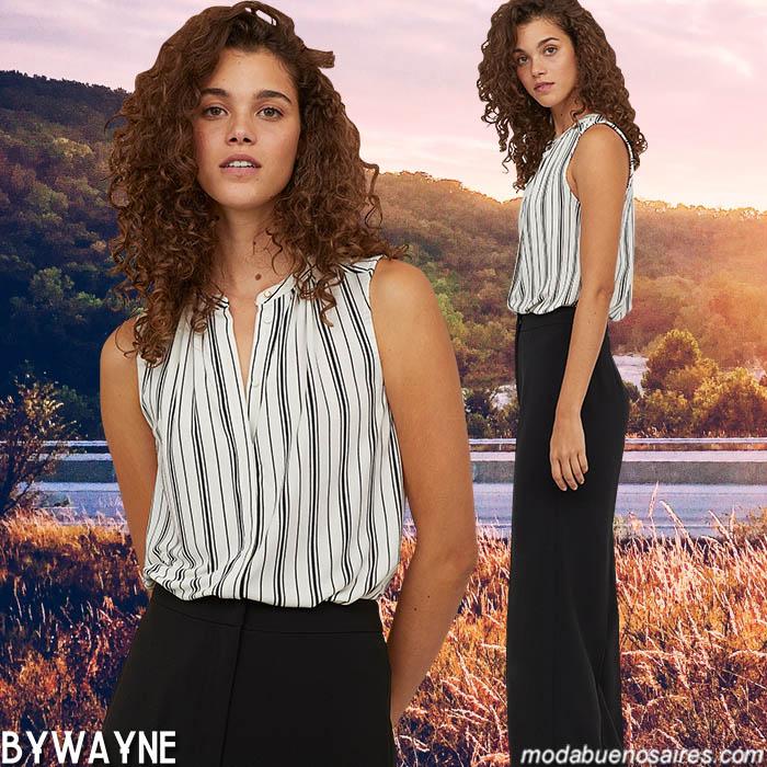 Blusas 2020. Moda 2020: tendencias de moda en blusas primavera verano para mujer.