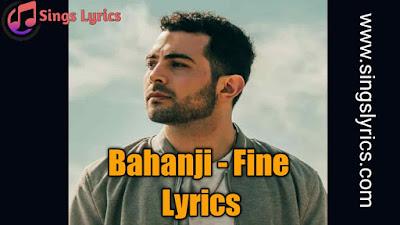Bazanji - Fine Lyrics